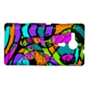 Abstract Sketch Art Squiggly Loops Multicolored Sony Xperia SP View1