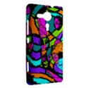 Abstract Sketch Art Squiggly Loops Multicolored Sony Xperia SP View2