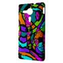Abstract Sketch Art Squiggly Loops Multicolored Sony Xperia SP View3