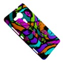 Abstract Sketch Art Squiggly Loops Multicolored Sony Xperia SP View5
