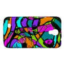 Abstract Sketch Art Squiggly Loops Multicolored Samsung Galaxy Mega 6.3  I9200 Hardshell Case View1