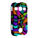 Abstract Sketch Art Squiggly Loops Multicolored Samsung Galaxy S7710 Xcover 2 Hardshell Case View2