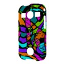 Abstract Sketch Art Squiggly Loops Multicolored Samsung Galaxy S7710 Xcover 2 Hardshell Case View3