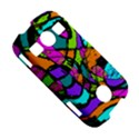 Abstract Sketch Art Squiggly Loops Multicolored Samsung Galaxy S7710 Xcover 2 Hardshell Case View5