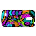 Abstract Sketch Art Squiggly Loops Multicolored Galaxy S4 Mini View1