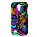 Abstract Sketch Art Squiggly Loops Multicolored Galaxy S4 Mini View3