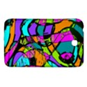 Abstract Sketch Art Squiggly Loops Multicolored Samsung Galaxy Tab 3 (7 ) P3200 Hardshell Case  View1