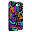 Abstract Sketch Art Squiggly Loops Multicolored Samsung Galaxy Tab 3 (7 ) P3200 Hardshell Case  View2