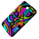 Abstract Sketch Art Squiggly Loops Multicolored Samsung Galaxy Tab 3 (7 ) P3200 Hardshell Case  View4