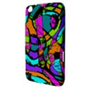 Abstract Sketch Art Squiggly Loops Multicolored Samsung Galaxy Tab 3 (8 ) T3100 Hardshell Case  View3
