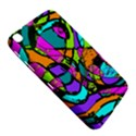 Abstract Sketch Art Squiggly Loops Multicolored Samsung Galaxy Tab 3 (8 ) T3100 Hardshell Case  View5