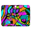 Abstract Sketch Art Squiggly Loops Multicolored Samsung Galaxy Tab 3 (10.1 ) P5200 Hardshell Case  View1