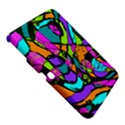 Abstract Sketch Art Squiggly Loops Multicolored Samsung Galaxy Tab 3 (10.1 ) P5200 Hardshell Case  View5