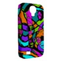 Abstract Sketch Art Squiggly Loops Multicolored Samsung Galaxy S4 Classic Hardshell Case (PC+Silicone) View2