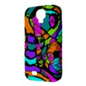 Abstract Sketch Art Squiggly Loops Multicolored Samsung Galaxy S4 Classic Hardshell Case (PC+Silicone) View3