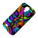 Abstract Sketch Art Squiggly Loops Multicolored Samsung Galaxy S4 Classic Hardshell Case (PC+Silicone) View4