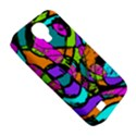 Abstract Sketch Art Squiggly Loops Multicolored Samsung Galaxy S4 Classic Hardshell Case (PC+Silicone) View5