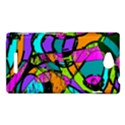 Abstract Sketch Art Squiggly Loops Multicolored Sony Xperia C (S39H) View1