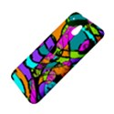 Abstract Sketch Art Squiggly Loops Multicolored HTC One Mini (601e) M4 Hardshell Case View4