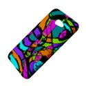 Abstract Sketch Art Squiggly Loops Multicolored HTC Butterfly S/HTC 9060 Hardshell Case View4