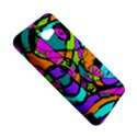 Abstract Sketch Art Squiggly Loops Multicolored HTC Butterfly S/HTC 9060 Hardshell Case View5