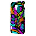 Abstract Sketch Art Squiggly Loops Multicolored LG Optimus L7 II View3