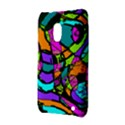 Abstract Sketch Art Squiggly Loops Multicolored Nokia Lumia 620 View3