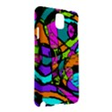 Abstract Sketch Art Squiggly Loops Multicolored Samsung Galaxy Note 3 N9005 Hardshell Case View2