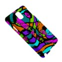 Abstract Sketch Art Squiggly Loops Multicolored Samsung Galaxy Note 3 N9005 Hardshell Case View5