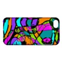 Abstract Sketch Art Squiggly Loops Multicolored Apple iPhone 5C Hardshell Case View1