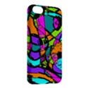 Abstract Sketch Art Squiggly Loops Multicolored Apple iPhone 5C Hardshell Case View2
