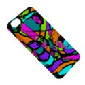 Abstract Sketch Art Squiggly Loops Multicolored Apple iPhone 5C Hardshell Case View5