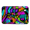 Abstract Sketch Art Squiggly Loops Multicolored Samsung Galaxy Tab 2 (7 ) P3100 Hardshell Case  View1