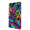 Abstract Sketch Art Squiggly Loops Multicolored Samsung Galaxy Tab 2 (10.1 ) P5100 Hardshell Case  View3
