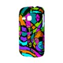 Abstract Sketch Art Squiggly Loops Multicolored Samsung Galaxy S6310 Hardshell Case View3