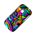 Abstract Sketch Art Squiggly Loops Multicolored Samsung Galaxy S6310 Hardshell Case View4