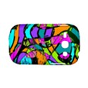 Abstract Sketch Art Squiggly Loops Multicolored Samsung Galaxy S6810 Hardshell Case View1