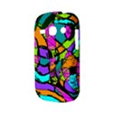 Abstract Sketch Art Squiggly Loops Multicolored Samsung Galaxy S6810 Hardshell Case View3