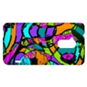 Abstract Sketch Art Squiggly Loops Multicolored HTC One Max (T6) Hardshell Case View1