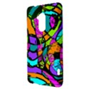 Abstract Sketch Art Squiggly Loops Multicolored HTC One Max (T6) Hardshell Case View3