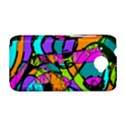 Abstract Sketch Art Squiggly Loops Multicolored HTC Desire 601 Hardshell Case View1