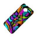 Abstract Sketch Art Squiggly Loops Multicolored HTC Desire 601 Hardshell Case View4