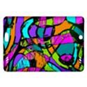 Abstract Sketch Art Squiggly Loops Multicolored Amazon Kindle Fire HD (2013) Hardshell Case View1