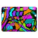 Abstract Sketch Art Squiggly Loops Multicolored Kindle Fire HDX Hardshell Case View1