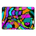 Abstract Sketch Art Squiggly Loops Multicolored Kindle Fire HDX 8.9  Hardshell Case View1