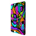 Abstract Sketch Art Squiggly Loops Multicolored Kindle Fire HDX 8.9  Hardshell Case View3
