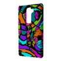 Abstract Sketch Art Squiggly Loops Multicolored LG G2 View3