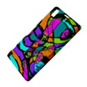 Abstract Sketch Art Squiggly Loops Multicolored Sony Xperia Z1 View4