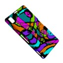 Abstract Sketch Art Squiggly Loops Multicolored Sony Xperia Z1 View5