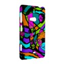 Abstract Sketch Art Squiggly Loops Multicolored Nokia Lumia 625 View2